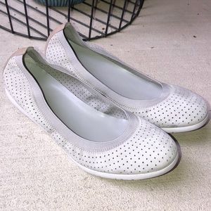 Cole Haan Wedge Ballet Flat Grey 9.5